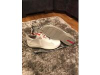 Men's prada trainers white size uk 8