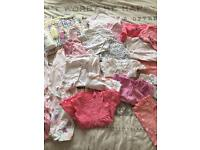 Large Baby Girls Bundle - up to 1 Month/0-3/3-6
