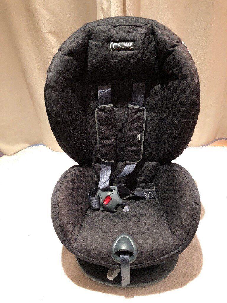 Mamas and Papas Pro-Tec Group 1 Forward Facing Car Seat Black | in