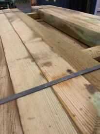 New timber railway sleepers