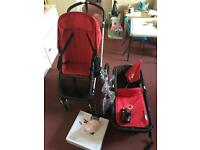 BARGAIN! Bugaboo cameleon travel system and accessories