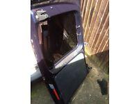 Vw caddy rear doors 2014