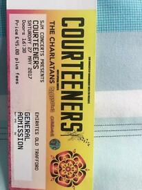 Courteeners ticket, Manchester 27th may