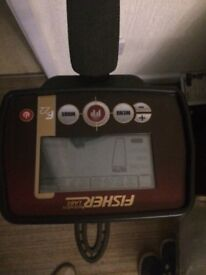 Fisher f22 boxed metal detector