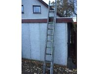 Wooden 2-Stage Ladder