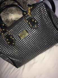 crystal covered bag