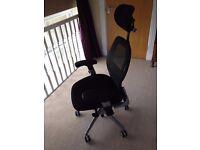Ergo-Tek Black Mesh Luxury Office Chair - Ergonomic