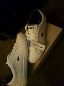 Genuine lacoste shoes, size 4 1/2