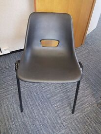 *****Office Clearance***** Plastic Stackable Chairs