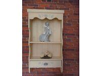 Handmade solid soft wood Wall Cabinet