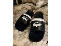 Lacoste flip flops