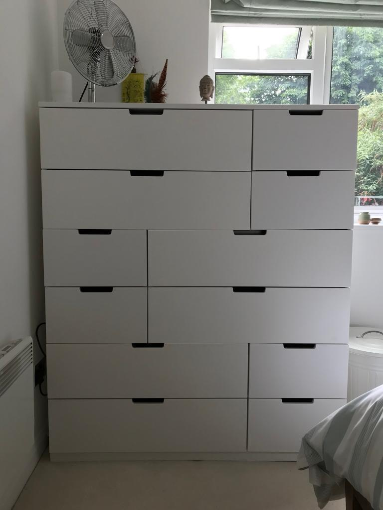 Ikea Nordli Chest Of 12 Drawers In Forest Hill London
