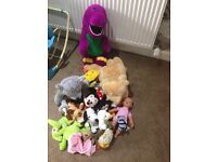 Included: Walker, teddies, toys and mamas papas carrier all good condition
