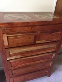 Stunning hardwood drawers