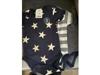 next baby suits bnwt 6-9 months 3 pack