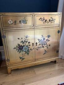 Gorgeous Hand painted cabinet / cupboard