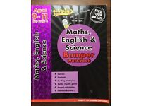 2 Books to help with Maths, English and Science.