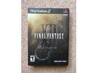 *RARE* Final Fantasy XII Collector's Edition - PS2, NTSC