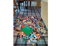 Massive drum of lego reluctantly for sale