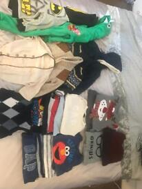 Bundle of boys clothes age 12 months to 3 years
