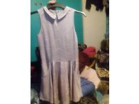 Lovely silver dress