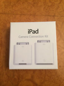 New - iPad camera connection kit