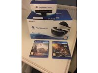 PlayStation 4 VR Headset, Camera + 2 Games