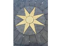 6ft star circle
