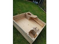HANDMADE SANDPIT LAST 1 *REDUCED* PAINTED ANY COLOUR