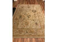 Cream designer rug