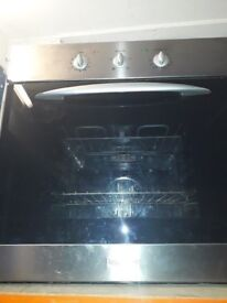 Baumatic built in oven , ,, silver in colour in fully working condition for sale
