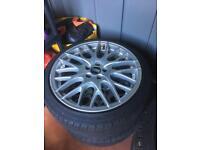 Genuine BBS wheels