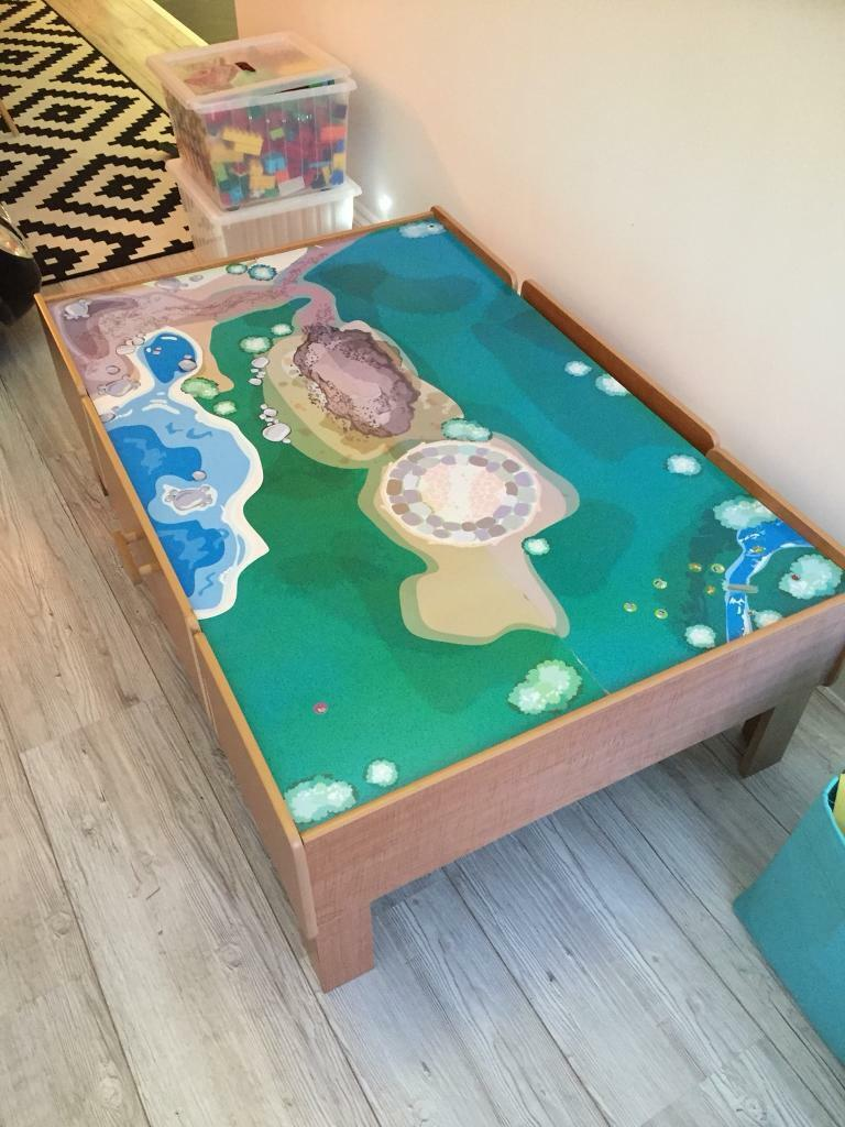 Play table great for trains sets and Lego | in Haywards Heath, West ...