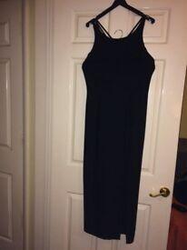 Black dress size 14 Dorothy Perkins