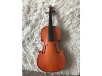 Old violin for restoration
