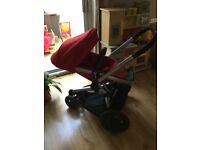 Quinny Buzz Extra Pushchair in Red Rumour