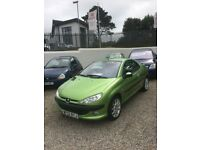 Peugeot 206cc 2.0 *only 61,000 miles*