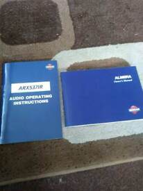 Nissan Almera Owners Manual