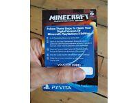 Minecraft ps3 download code unused