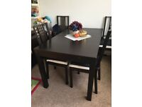 Dining table from Ikea