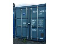 Self storage containers in Benton, Newcastle