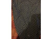 New Urban Outfitters Cravat Pocket Square Blue White Polkadot Navy River Island Urban Outffiters H&M