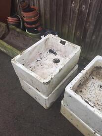 Belfast sink planter