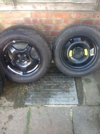 Tyres for sale, 4 total, 2 x 195/60, 1 x 225/60, 1 x 205/55R16