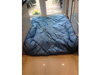 PROACTION DOUBLE SLEEPING BAG ROYAL BLUE COLOUR