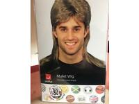 80's Mullet Wig made by Smiffys
