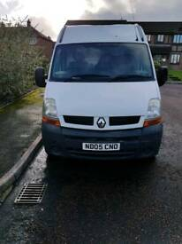 Renault master 97k window cleaning van ionics thermopure system