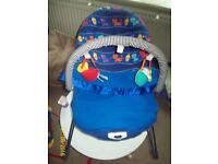 Great Vibrating Bouncy Chair