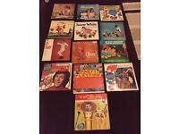LPs various children's music.