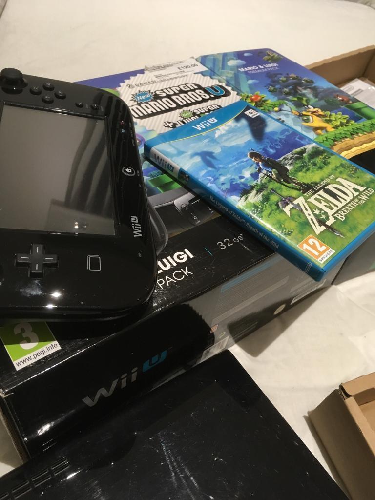 Wii U + zelda